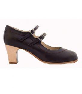 zapatos de flamenco profesionales de mujer - Begoña Cervera - zapato de flamenco begoña cervera 2 correas
