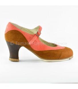 zapatos de flamenco profesionales de mujer - Begoña Cervera - Binome ante especial lateral