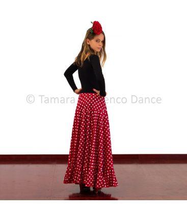 faldas flamencas de nina - - Sevillana Lunares niña