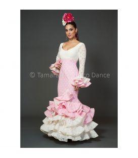 Azalea blanco y rosa