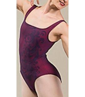 bodies y maillots para mujer - - Indiana Morado-Rojo