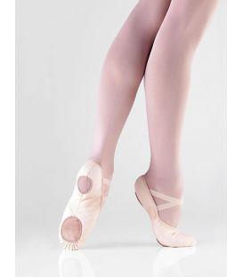 medias puntas de ballet - So Dança - Zapatilla BAE 13 lona con elastico
