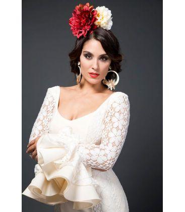trajes de flamenca 2015 mujer - Aires de Feria - Anabel Blanco