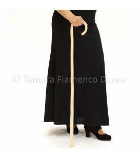 Bastón de Baile Flamenco Blanco