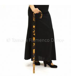 Bastón de Baile Flamenco Quemado