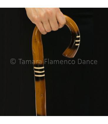 bastones de baile - - Bastón de Baile Flamenco Rallado
