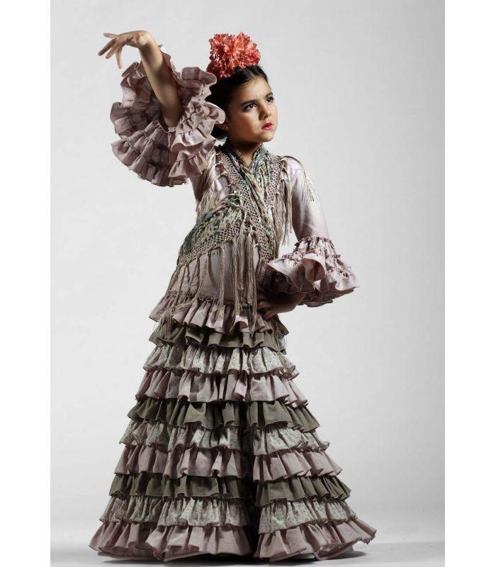 trajes de flamenca 2017 , Roal , Verbena niña