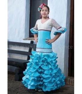 trajes de flamenca 2016 - - Feria celeste