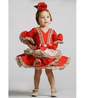 trajes de flamenca 2017 - Roal - Bolero niña rojo
