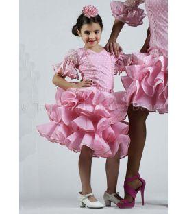 trajes de flamenca 2016 - Roal - Lucero niña rosa