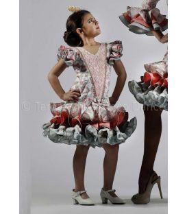 trajes de flamenca 2016 - Roal - Paola niña flores
