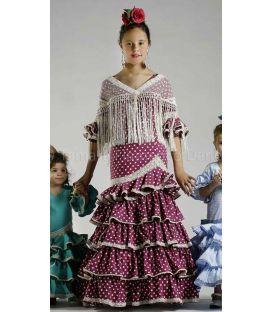 trajes de flamenca 2016 - Roal - Picara niña cardenal lunares