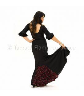 faldas flamencas de mujer - - Almería con lunares - Punto (falda-vestido)