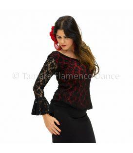 maillots bodys y tops de flamenco de mujer - - Camiseta Harmonia