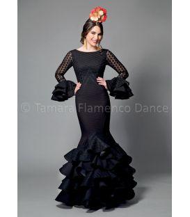 trajes de flamenca 2016 mujer - Aires de Feria - Veronica negro