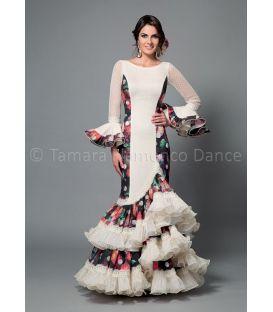 trajes de flamenca 2016 mujer - Aires de Feria - Manuela plumeti y estampado