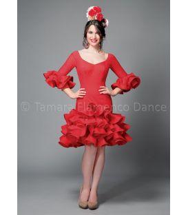 trajes de flamenca 2016 mujer - Aires de Feria - Tronio rojo