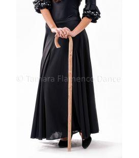 bastones de baile - - Bastón de baile flamenco castaño