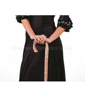 Bastón de baile flamenco castaño