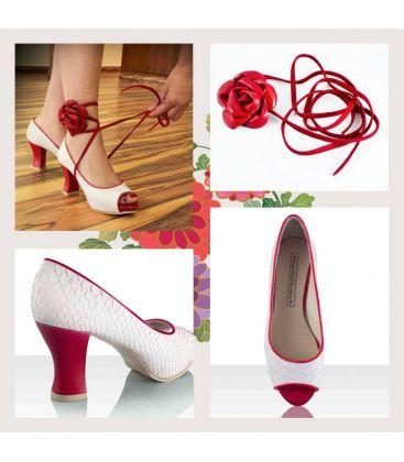 zapatos flamencos de calle begona cervera - Begoña Cervera - Cintas Calle