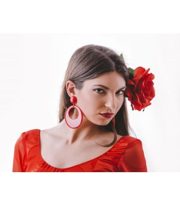 pendientes de flamenca - - Pendientes super