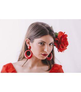 pendientes de flamenca - - Pendientes grande