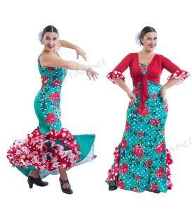 faldas flamencas de mujer - Happy Dance - EF309
