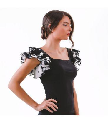 maillots bodys y tops de flamenco de mujer - - Camiseta Alegria - Lycra