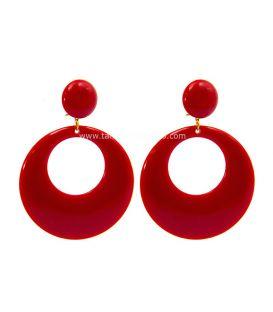 pendientes de flamenca - - Argolla Super