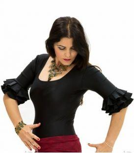 maillots bodys y tops de flamenco de mujer - - Body Jaleo - Lycra