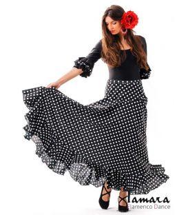 faldas flamencas de mujer - - Sevillana con Lunares