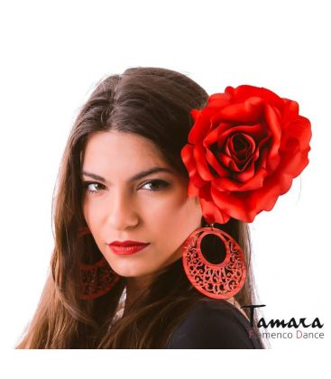 flores de flamenca - - Flor Cintia ( 12 colores disponibles)