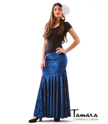 faldas flamencas de mujer - - Granada - Terciopelo martele