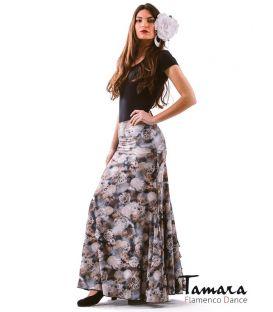 faldas flamencas - - Almeria Estampado Gris Ed.Limitada