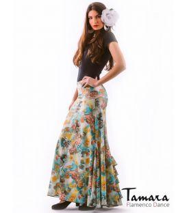 faldas flamencas - - Almeria Estampado Color Ed.Limitada