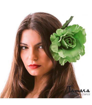 flores de flamenca - - Flor Perla ( 3 colores disponibles)