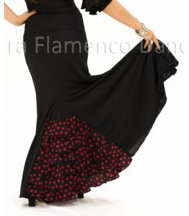 faldas flamencas de nina - - Almería con lunares niña - Punto (falda-vestido)