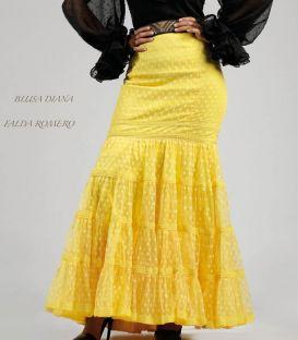 faldas y blusas flamencas - Roal - Falda Romero Superior