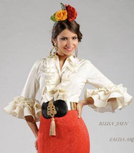 faldas y blusas flamencas - Roal - Blusa Jaen