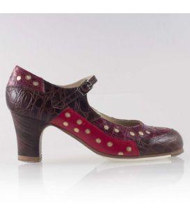zapatos de flamenco profesionales de mujer - Begoña Cervera - Patch