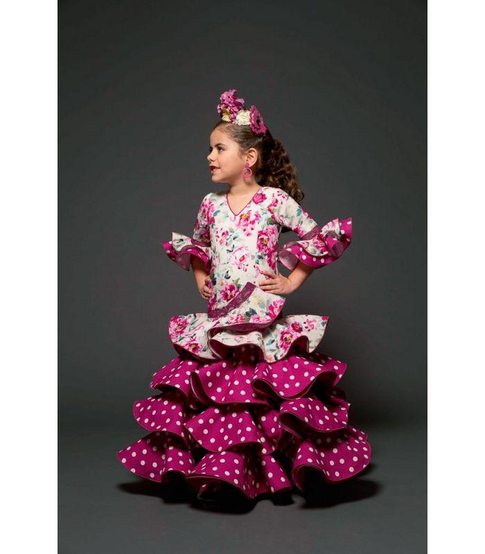 trajes de flamenca 2017 , Aires de Feria , Romero niña