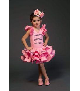 trajes de flamenca 2017 - Aires de Feria - Lola niña rosa