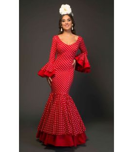 trajes de flamenca 2017 - Aires de Feria - Deseo Lunares