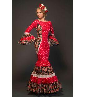 trajes de flamenca 2017 - Aires de Feria - Albahaca