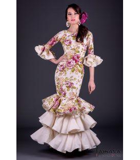 Traje de flamenca Tiento Superior Estampado