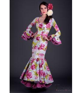 Vestido de gitana Gitana Flores fuxia