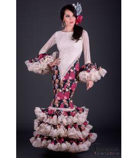 trajes de flamenca 2017 - Aires de Feria - Alhambra Estampado 2