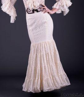 faldas y blusas flamencas - Roal - Falda Romero Encaje
