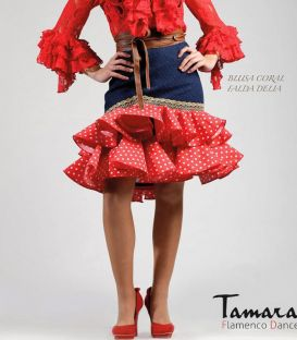 faldas y blusas flamencas - Roal - Traje de flamenca 2017 Roal