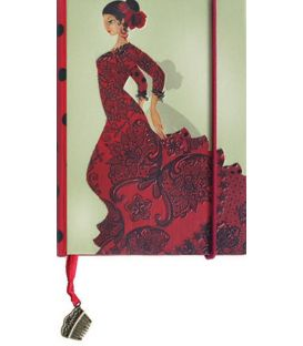 souvenirs flamencos - - Libreta mini soleá